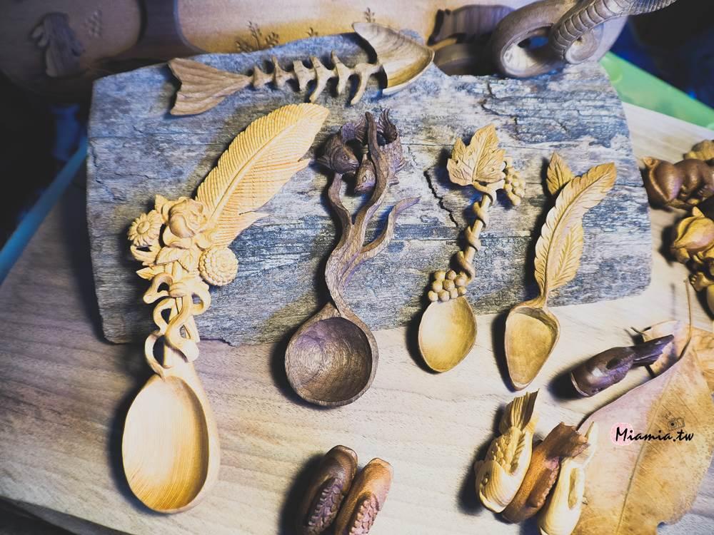 2018木咖市集 木工雕刻展 10元積木 木材廢料 手工藝 DIY 台中木雕課程