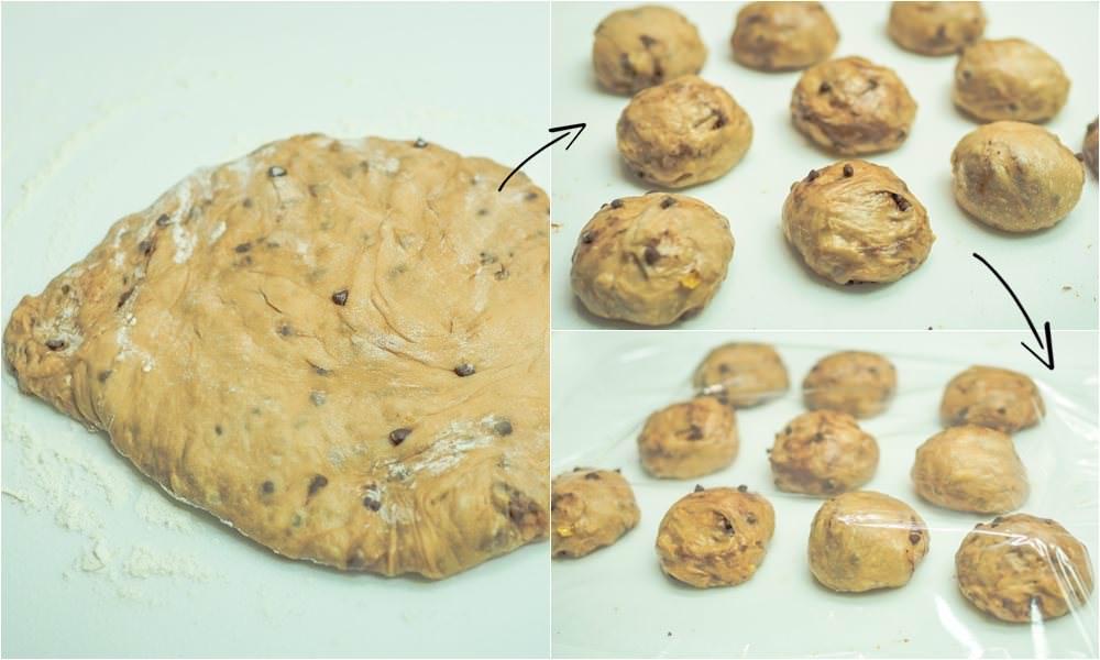 EUPA小紅攪拌機食譜 柚香巧克力麵包 餐包 烘焙 初學者 好吃的麵包 簡單上手小餐包 用果醬做麵包 麵包食譜