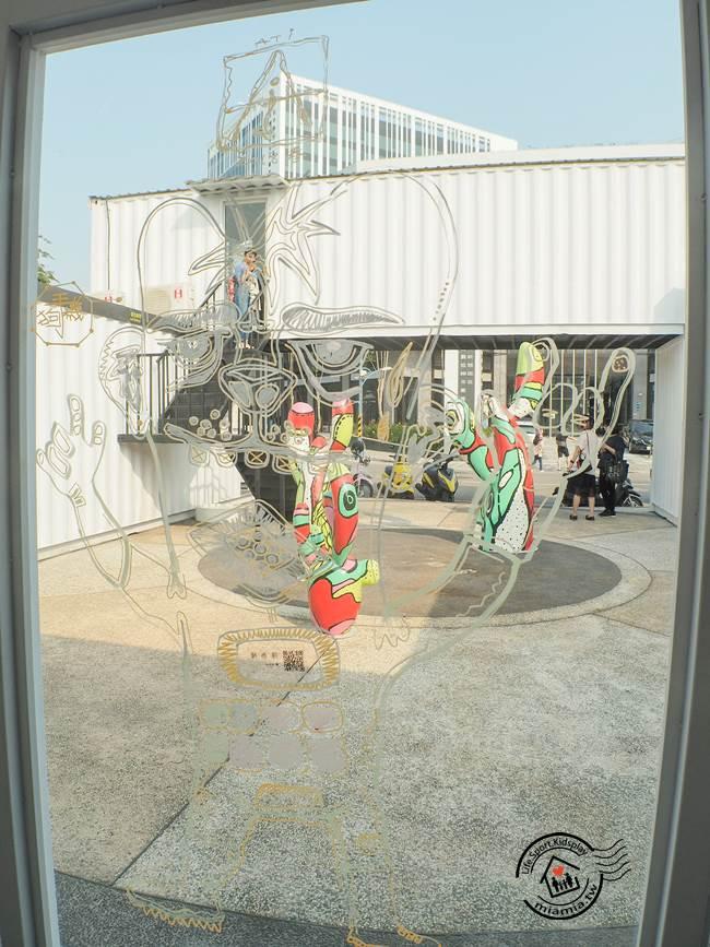 台中軟體園區 DaliArt藝術廣場 大里文創園區 文創聚落 裝置藝術 駐村展覽 東湖公園