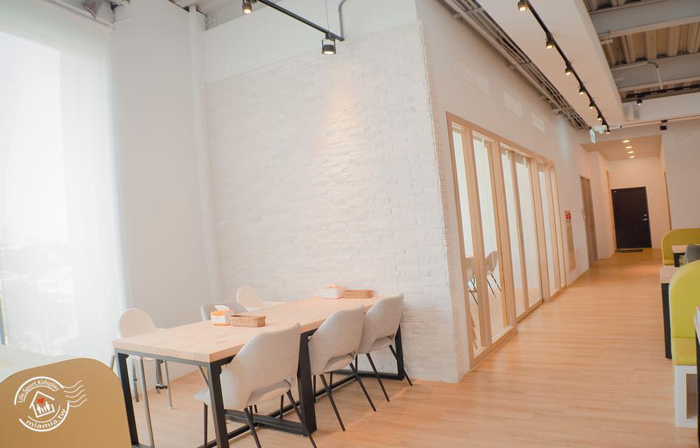 小島3.5 台中親子餐廳 室內沙坑 溜滑梯 球池 包廂 慶生會 包場 好吃餐點 2018最新 台中北屯餐廳 停車場