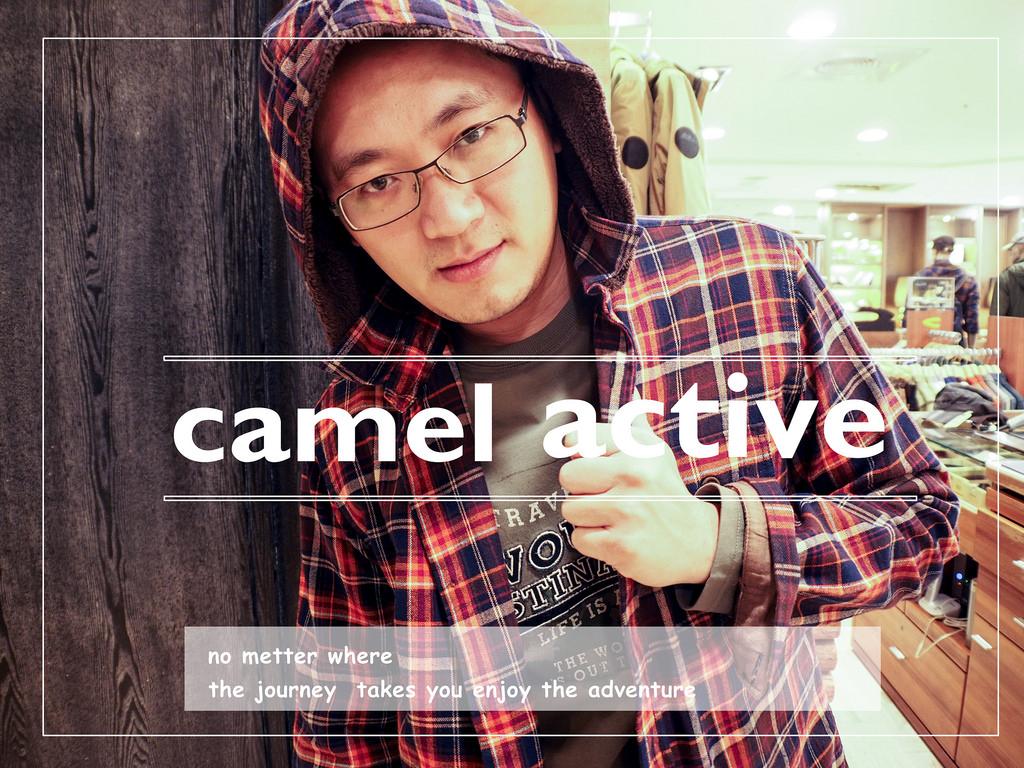 流行、自信、舒適的男性旅行穿搭【camel active】讓男人好自在!!